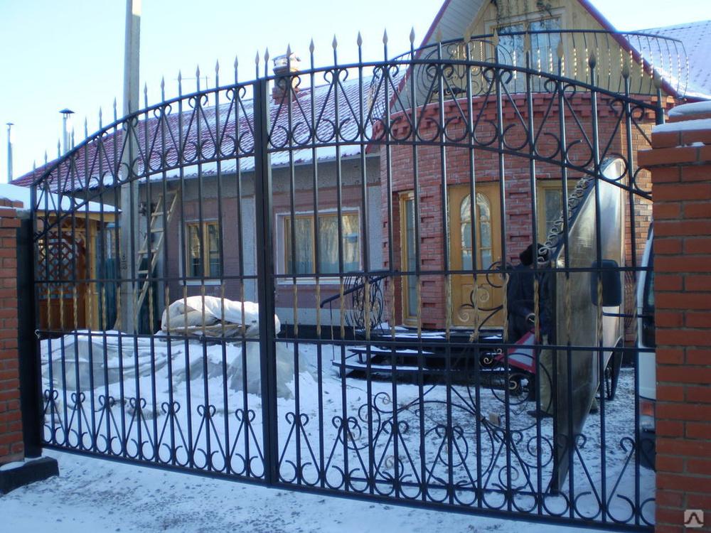 Ворота распашные цены в хабаровске штакетник 50 20 мм купить